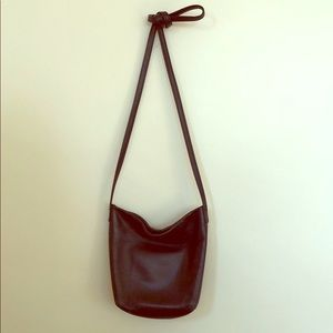 Baggu Black Leather Small Purse